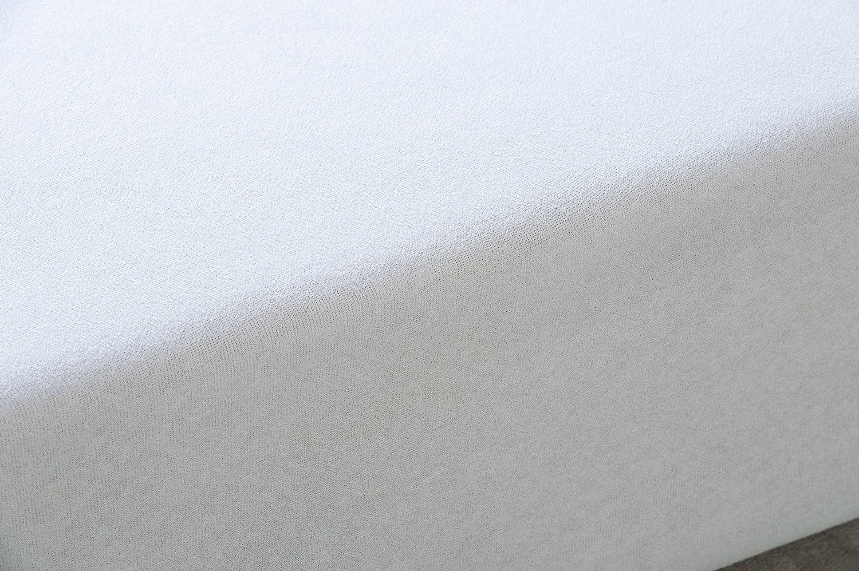 SAVEL, Funda colchón Rizo Microfibra, elástica y ajustable, 150x190/200 (para camas de 150): Amazon.es: Hogar