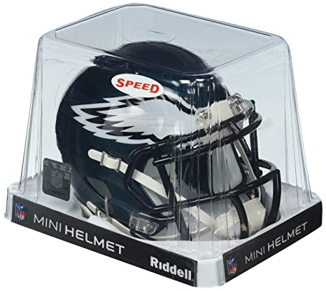 827d310a40e Amazon.com : Riddell Philadelphia Eagles NFL Replica Speed Mini Football  Helmet : Sports Related Collectible Mini Helmets : Sports & Outdoors