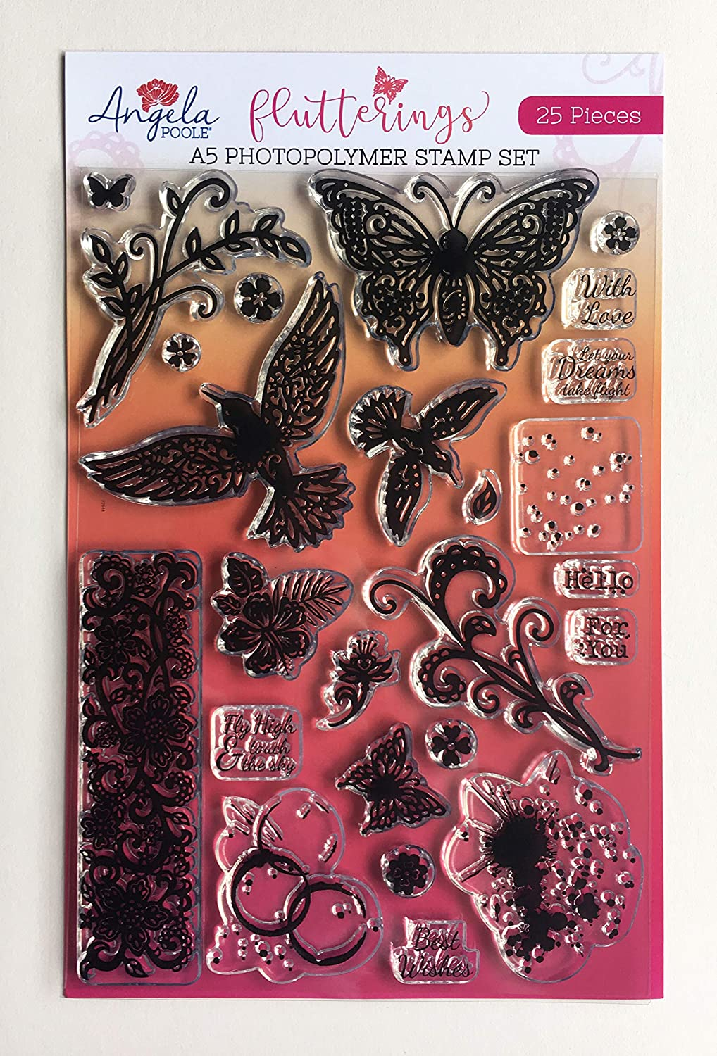 Standard Angela Poole Photopolymer Stamps