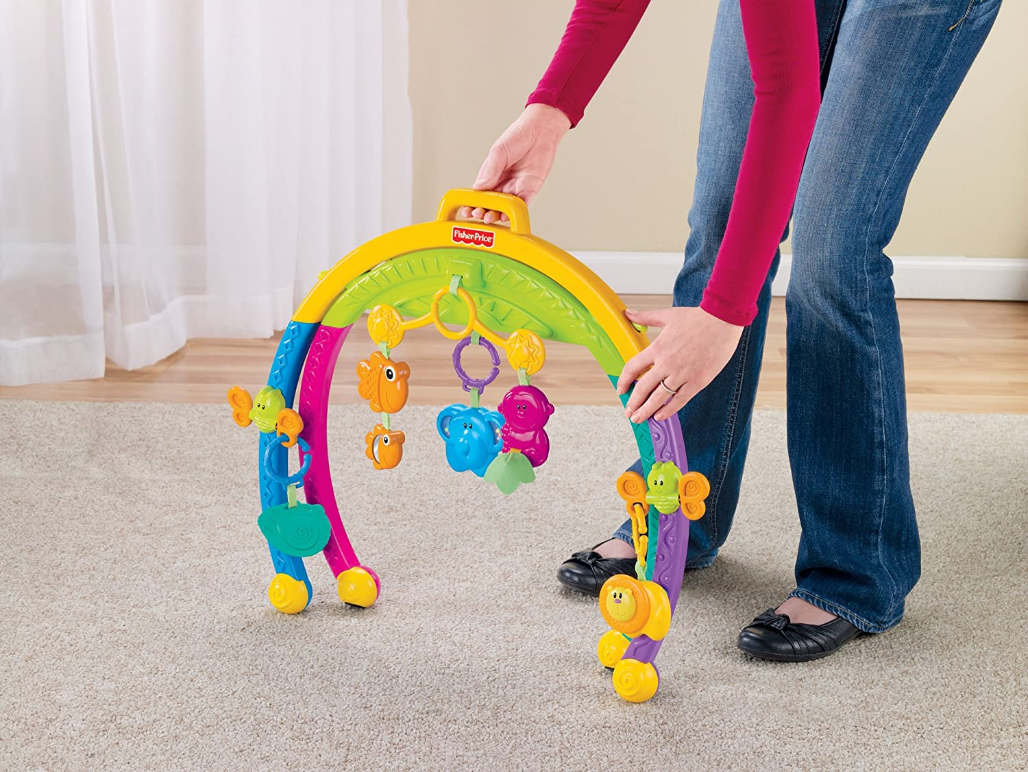 Animal Play Set With Movable Legs Dedicated 7pc Animals & Dinosaurs