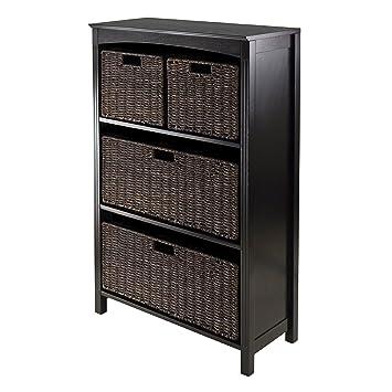 Winsome Terrace 5 Piece Storage Shelf/Bookcase