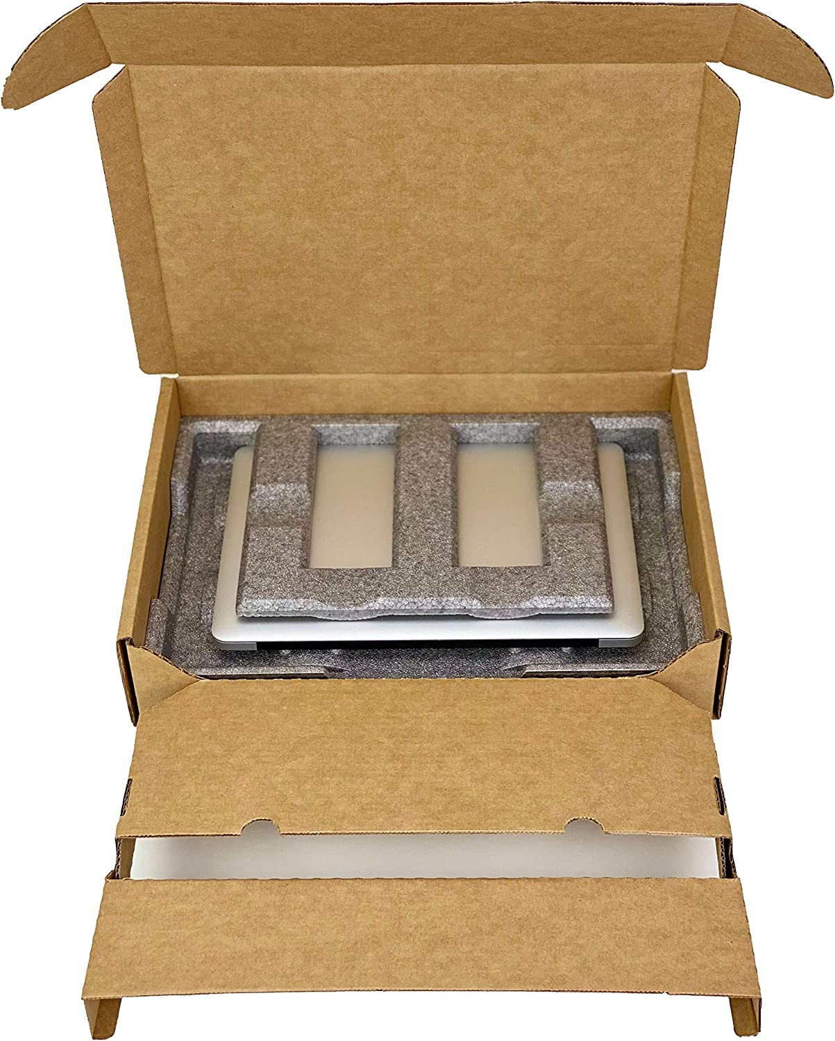 Universal Laptop Shipping Box, FedEx/UPS/ISTA Certified, Fits Most Laptop Screen Sizes, theBOXlargeV2