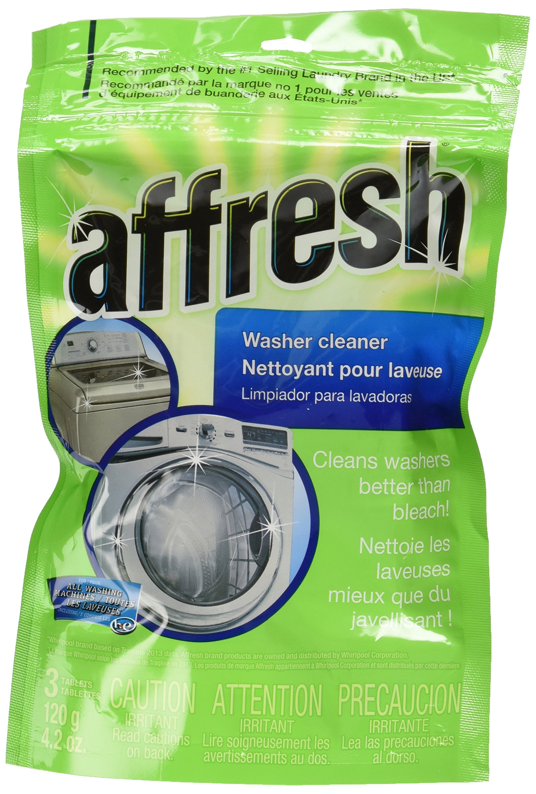 Affresh Whirlpool All Washing Machine Washer Cleaner - 9 tablets