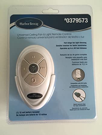 Harbor breeze universal ceiling fan light remote control harbor harbor breeze universal ceiling fan light remote control harbor breeze fan remote amazon mozeypictures Image collections