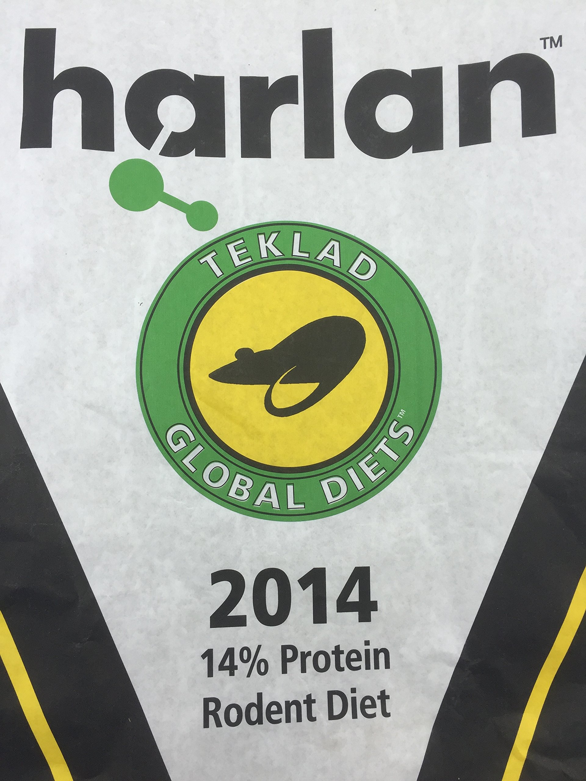 Nesom Distributing Harlan Teklad Global Rat Food Pellets 2014 (33lbs)