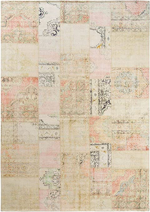 Benuta Jelle - Alfombra, algodón, Beige, 120 x 180 cm: Amazon.es: Hogar