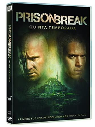 Prison Break Temporada 5 [DVD]: Amazon.es: Wentworth Miller ...