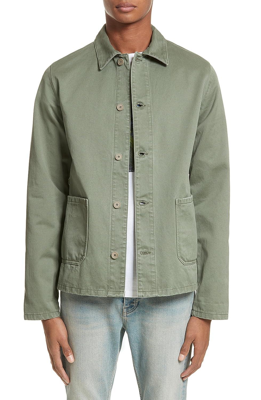[アーペーセー] メンズ ジャケットブルゾン A.P.C. Kerlouan Shirt Jacket [並行輸入品] B07CGLZZ15  Small