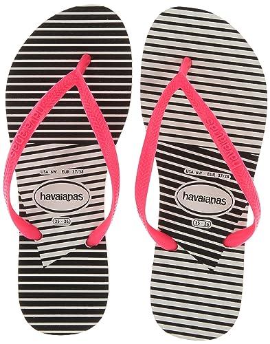 98ae45392ead Havaianas Women s Slim Graphic Flip Flop