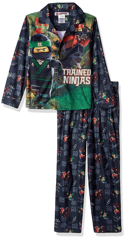 Amazon.com: LEGO Ninjago Boys Escudo Pajama Set, botón ...