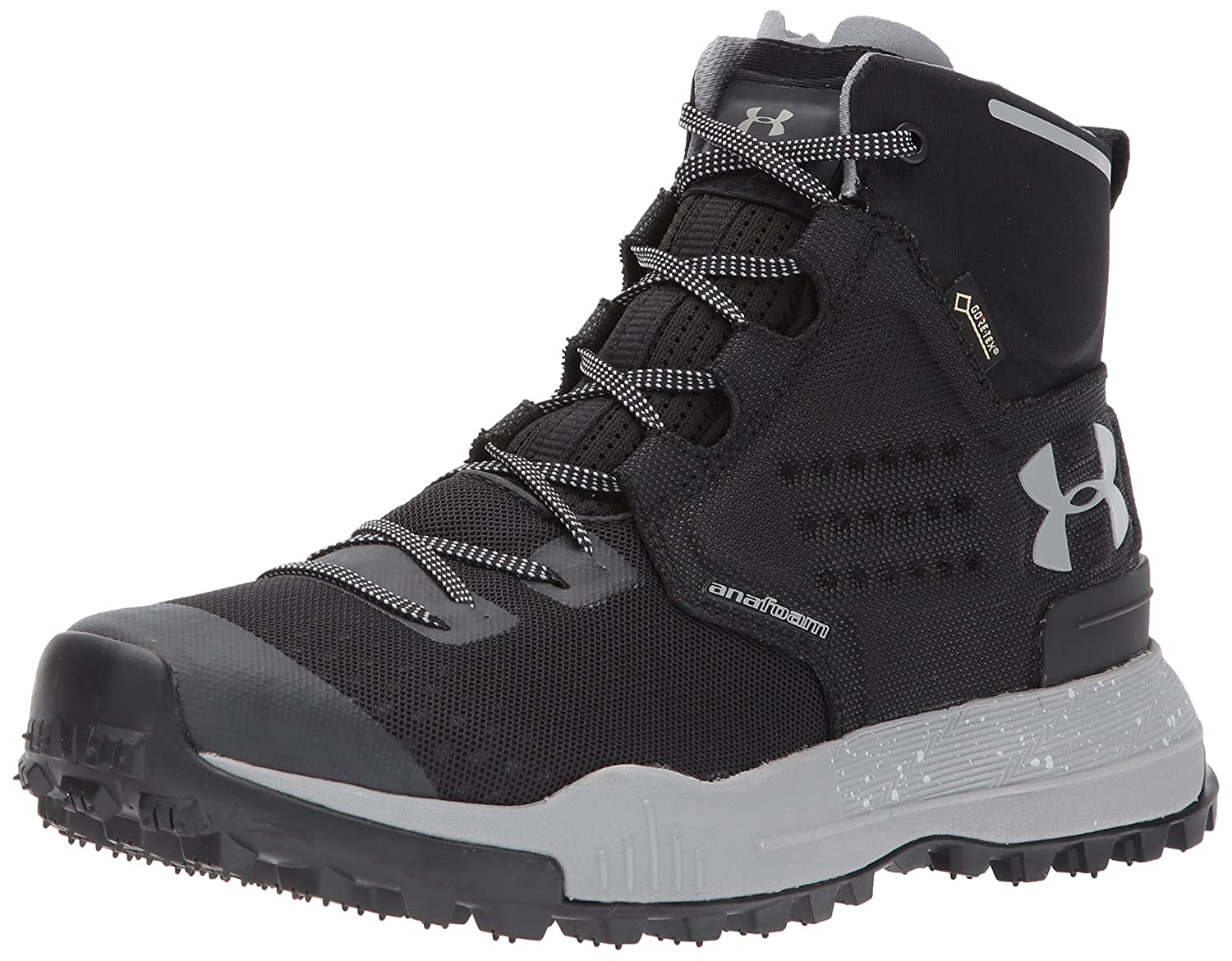 Under Armour Women's Newell Ridge Mid Gore-Tex Backpacking Boot B01N7KF8IQ 11 M US|Black (001)/Steel