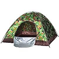 Waterproof windproof ultraviolet-proof outdoor travel camping 3-4people camouflage multifunction rainning proof tent…