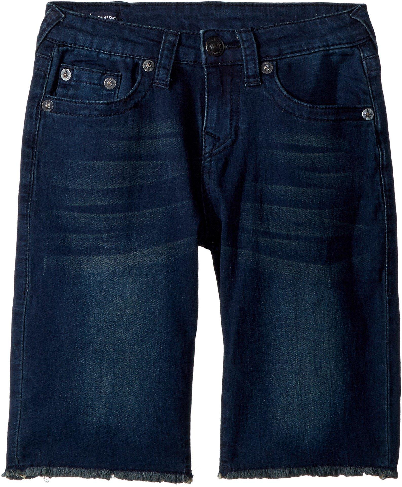 True Religion Kids Boy's FT Geno Shorts (Big Kids) Bomb Blue 16