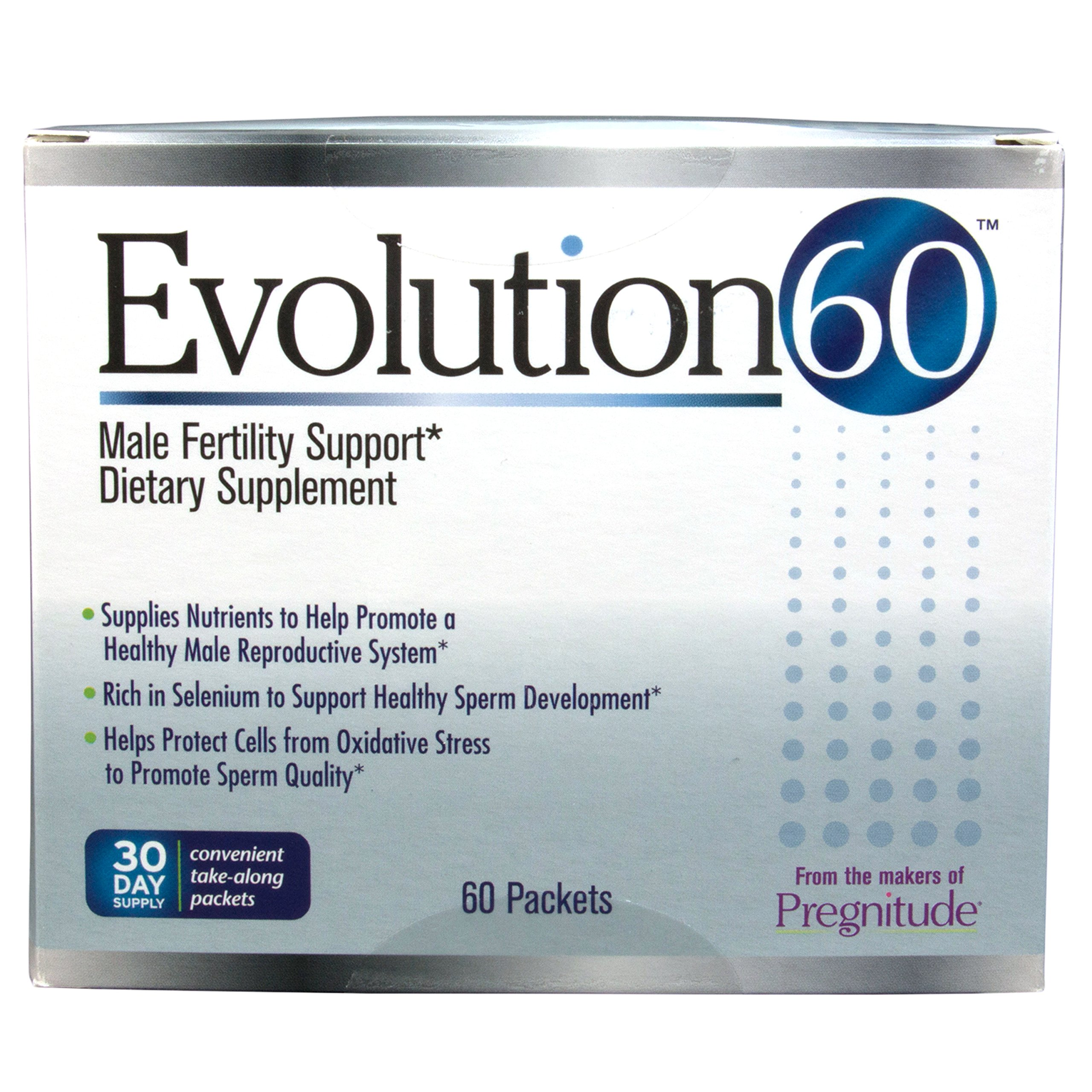 Evolution60 Male Fertility And Reproductive Supplement - 60 Support Packets