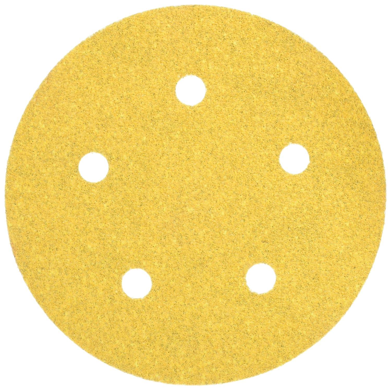 Mirka Bulldog Gold Abrasive Discs 5 Hook And Loop No Hole 180 Grit 50 Count