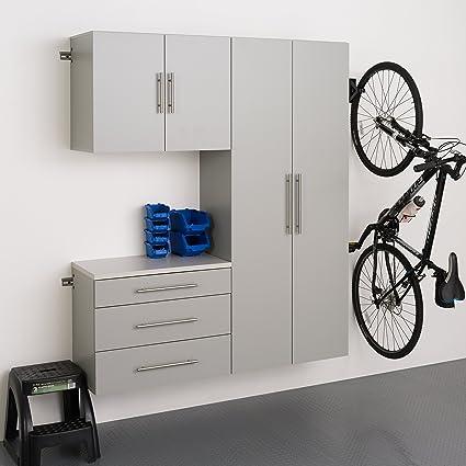 Amazon Com Prepac Grgw 0702 3m 3 Piece Hangups Storage Cabinet Set
