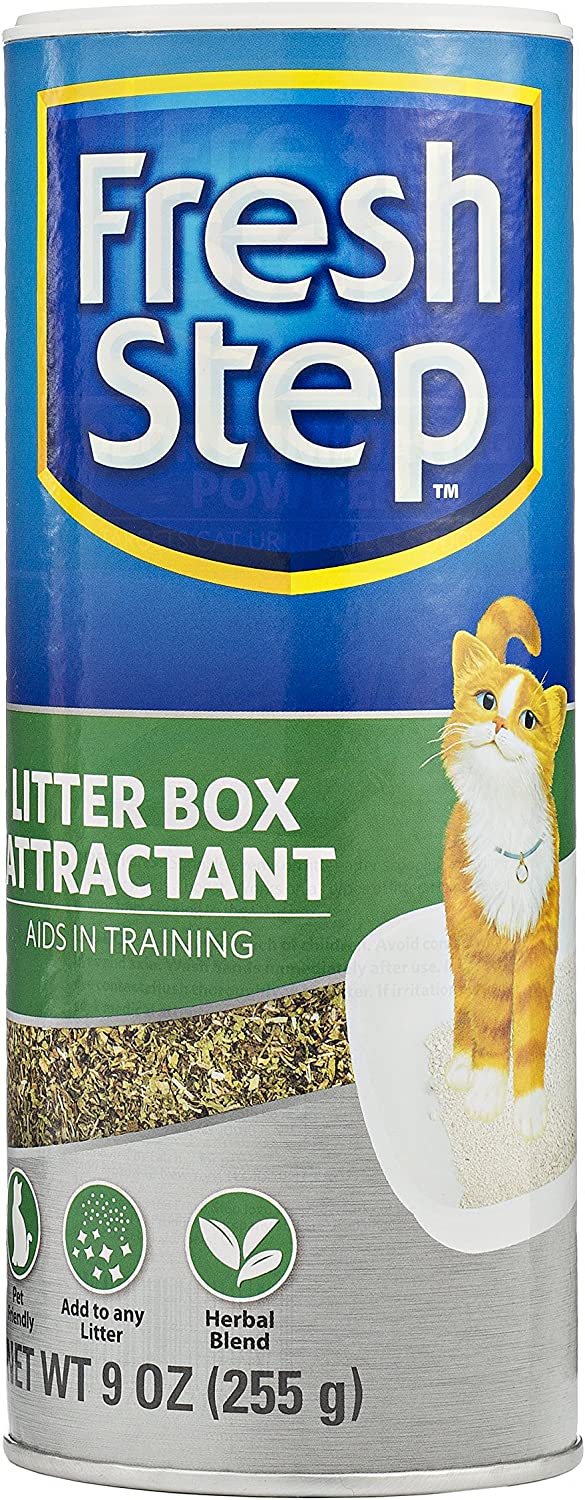 Fresh Step Cat Litter Box Attractant Powder for Training