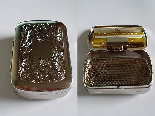Caja para tabaco y hoja: Amazon.es: Hogar