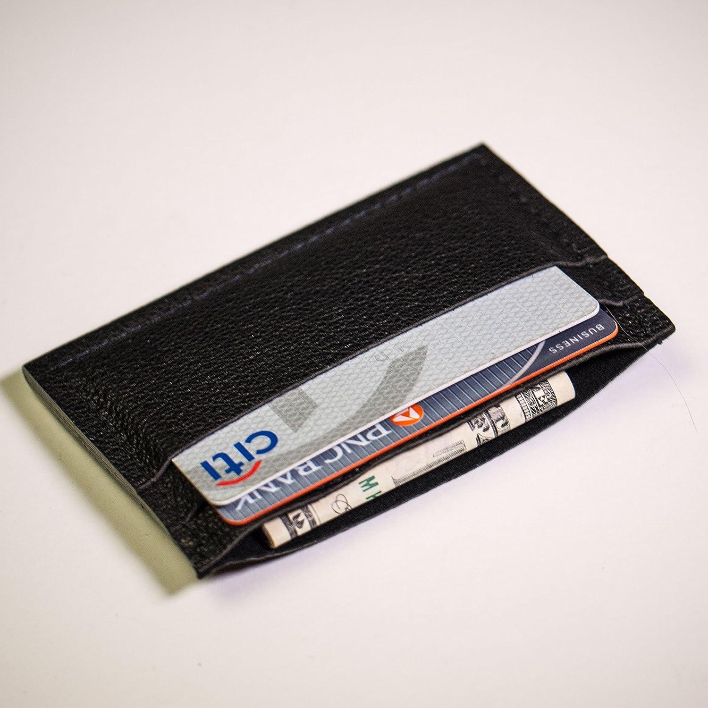 Wilt 1862 Ash Davis Leather Slim Card Wallet