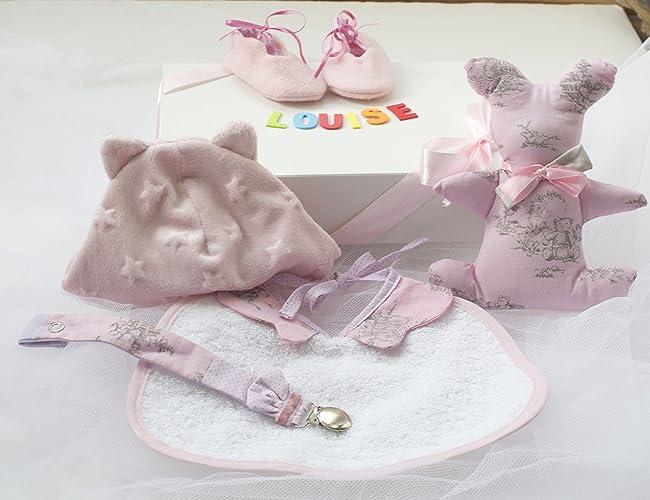 12bf03044ab1d awesome babybox bb fille personnalis unique fait main coffret cadeau  naissance crmonie with cadeau naissance bb