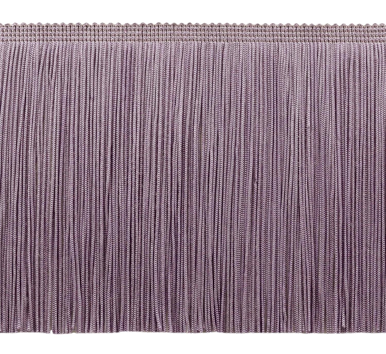 K9 Sold by The Yard CFS06 Color: Black D/ÉCOPRO 6 Inch Chainette Sequin Fringe Trim