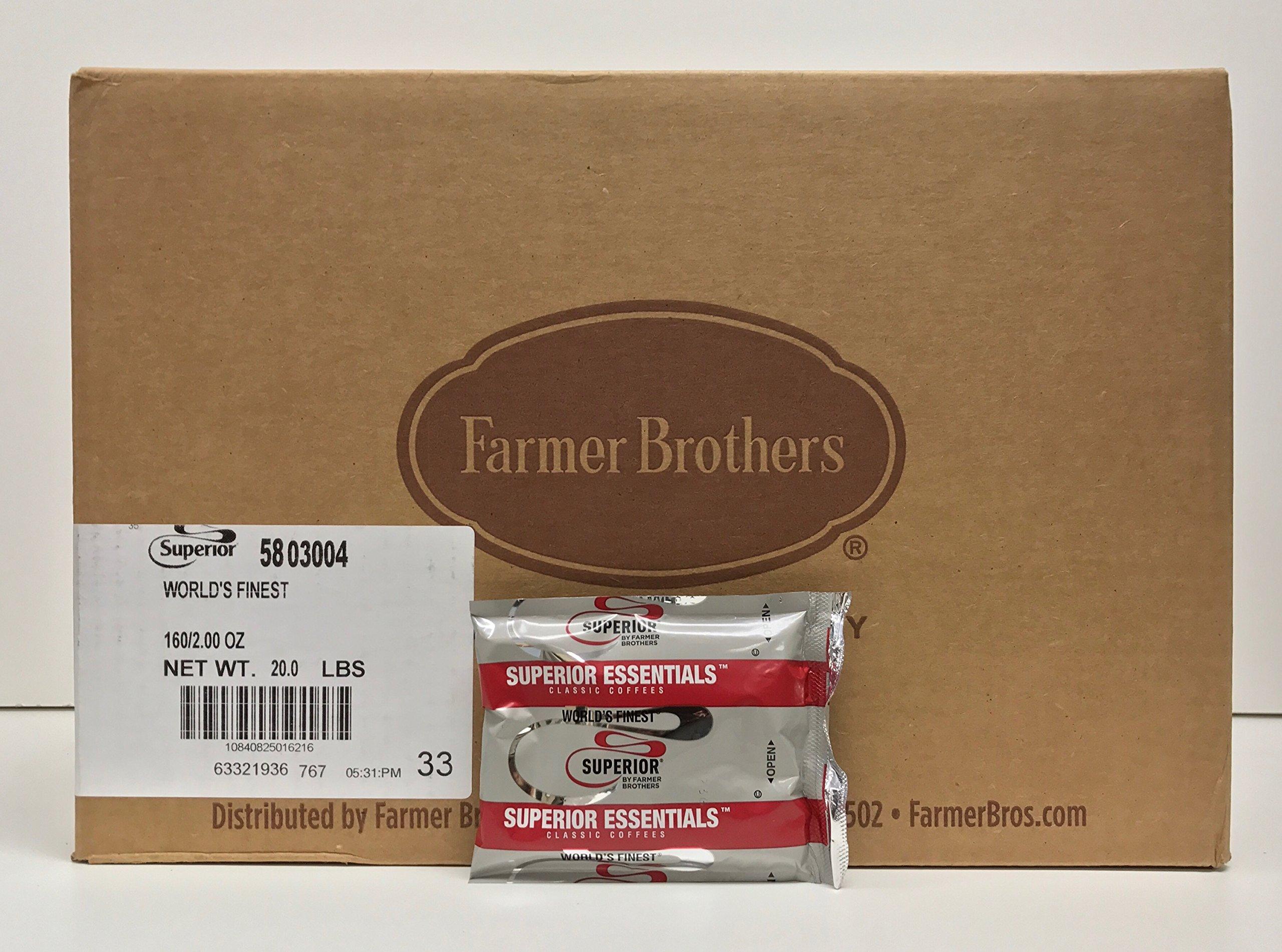 Superior World's Finest Ground Coffee (160 bags/2 oz) - 5803004