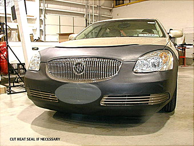 Coverking Custom Fit Front End Mask for Select Buick Lucerne Models Black Velocitex Plus