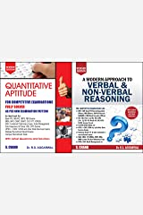 Quantitative Aptitude + Verbal & Non-Verbal Reasoning for Competitive Examinations (2 BOOKS SET) Paperback