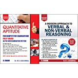 Quantitative Aptitude + Verbal & Non-Verbal Reasoning for Competitive Examinations (2 BOOKS SET)