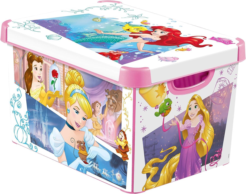 CURVER 232344 Décor Princesa Déco Stockholm – Caja (plástico Rosa 40 x 30 x 24 cm) L: Amazon.es: Hogar