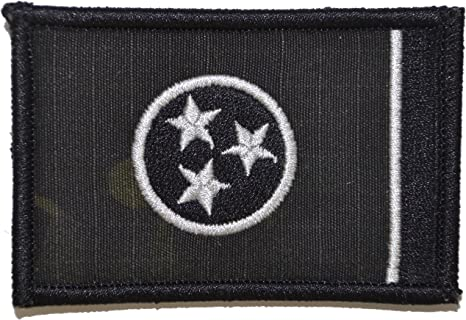 Tennessee State Flag 2x3 Patch