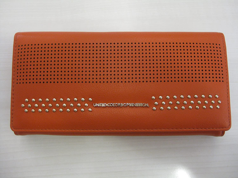 Benetton - Cartera para mujer Naranja arancio: Amazon.es ...