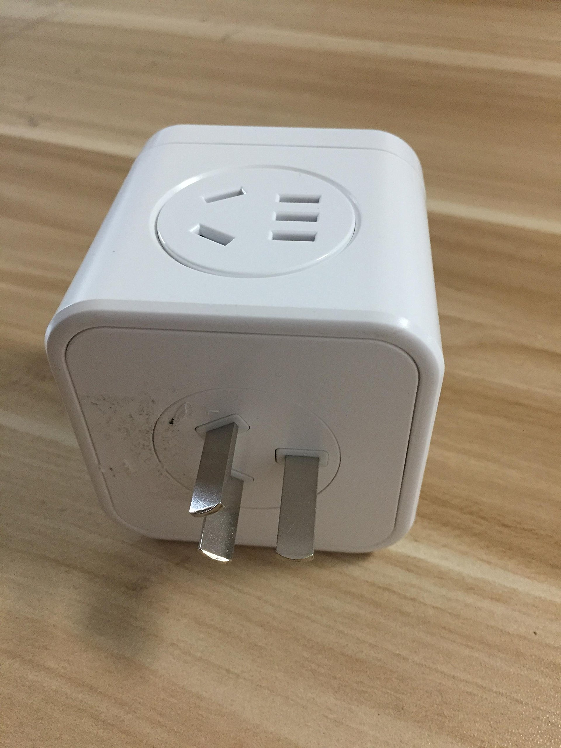 CooCn Light Weight Travel Adaptor Plug for Visitors from Australia//China Adapter