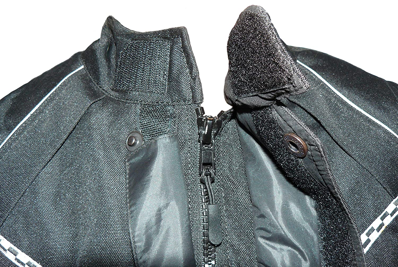 Protectwear giacca da motociclista giacca tessile WCJ-101 nero Taglia 56 // 2XL