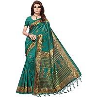 ANNI DESIGNER Women's silk Saree