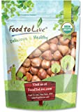 Food to Live Organic Hazelnuts / Filberts (Raw, No Shell) (8 Ounces)