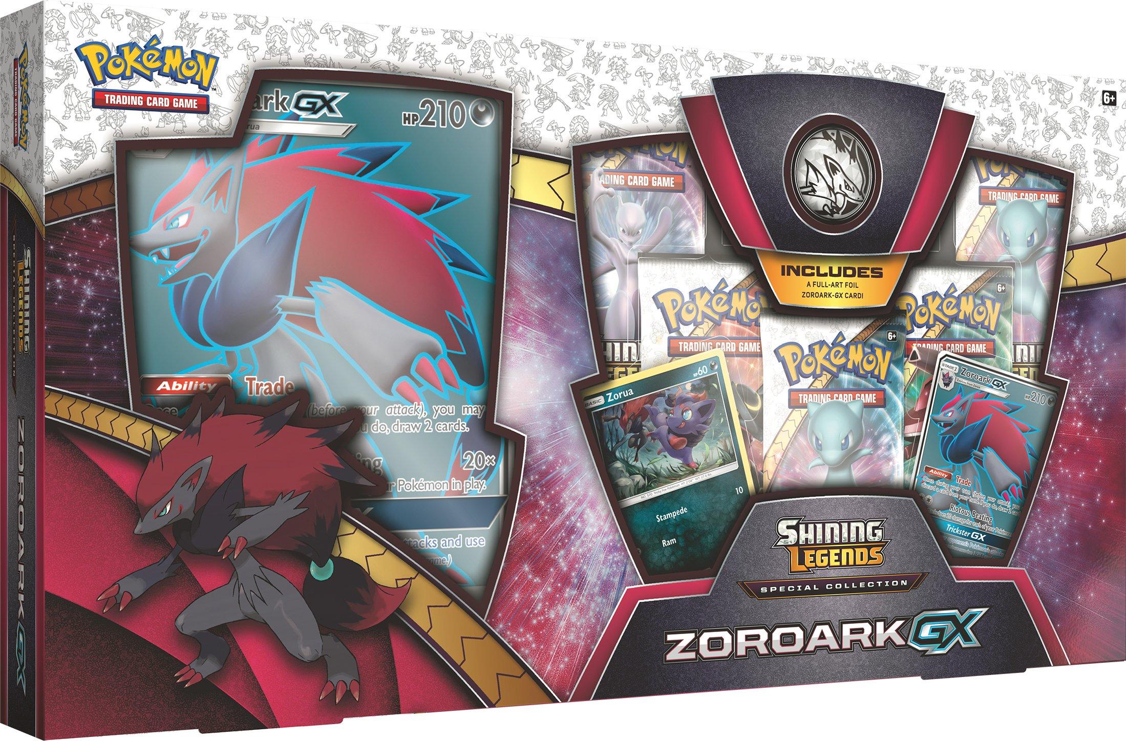 Pokemon Cards 80339 SM3.5 Shining Legends Zoroark GX Sp Col, Box