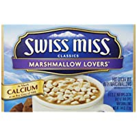 Swiss Miss Classics Marshmallow Lovers Hot Cocoa Mix, 8 Count 7.44 oz