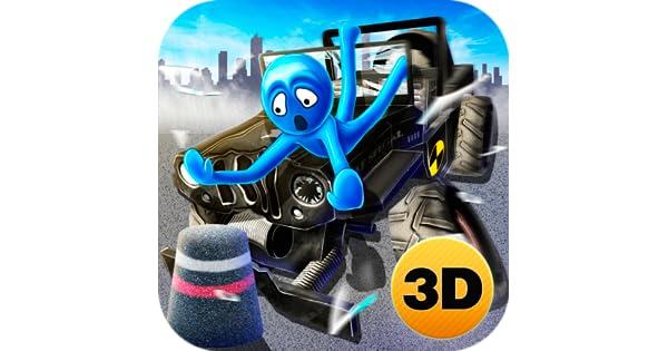 Stickman Simulator Crash Test Dismount 3D: Brake Car Falling Dummy | Crashing and Testing Game: Amazon.es: Appstore para Android