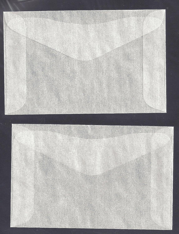 "1,000#2 Glassine Envelopes Measuring 2 5/16"" X 3 5/8"""
