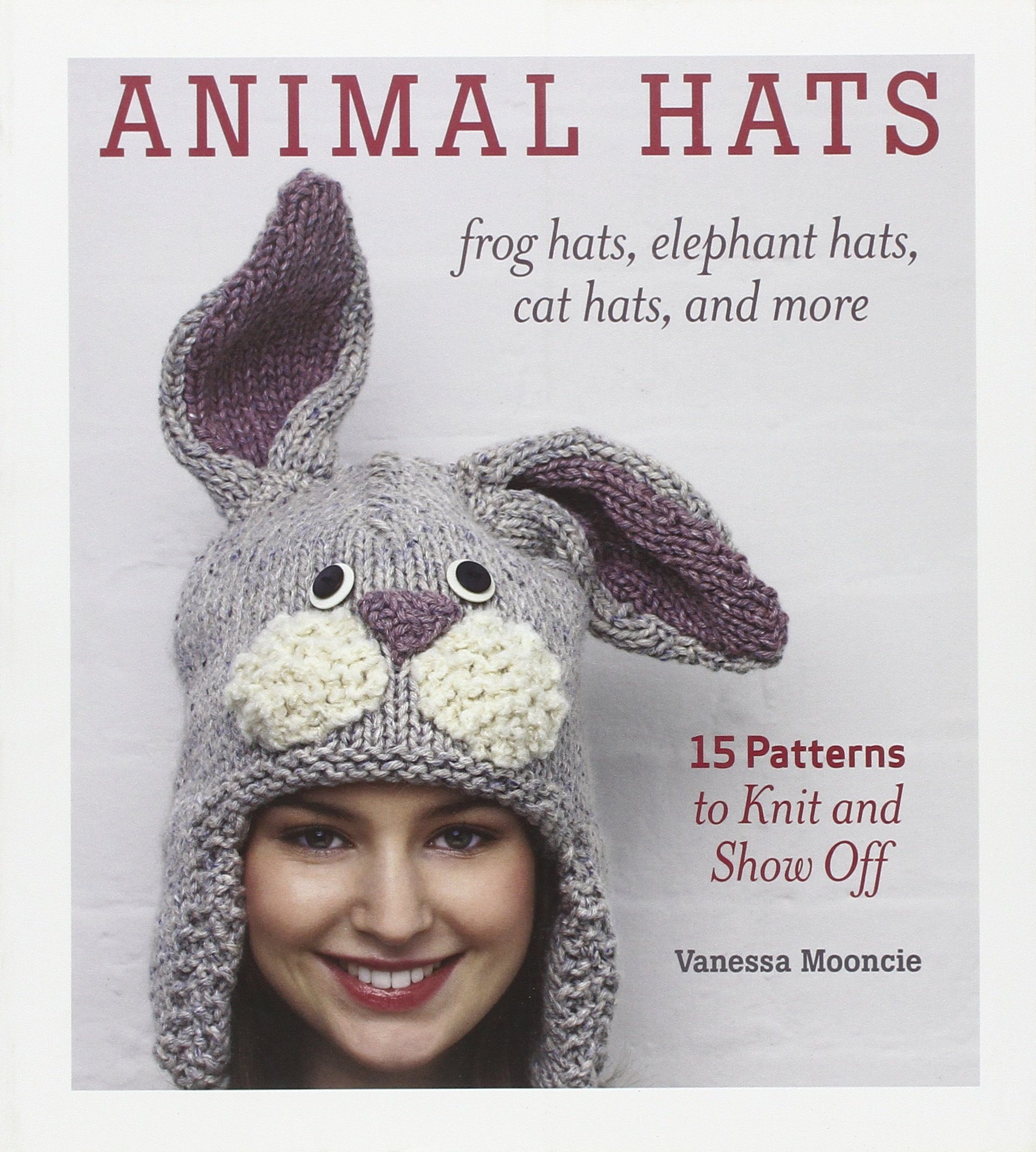 Animal Hats patterns knit show