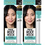 L'Oreal Paris Magic Root Rescue 10 Minute Root Hair Coloring Kit, Permanent Hair Color with Quick Precision Applicator…