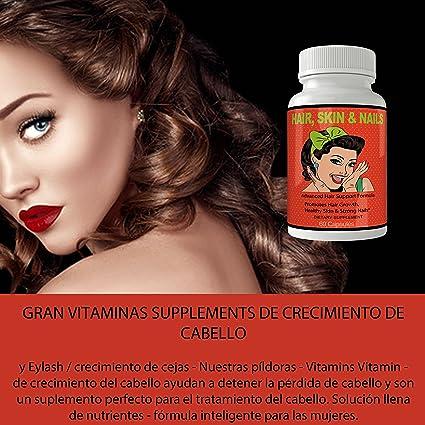 Vitaminas Para El Cabello | Tratamiento Para El Cabello Maltratado | Ayudan a Crecer El Pelo |...