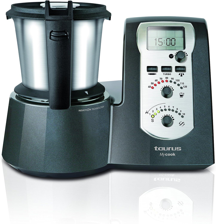 Taurus Mycook Legend - Robot de Cocina por Inducción de 40 a 120º ...
