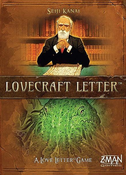 Alderac Entretenimiento ald05123 – Juego de Cartas Love Craft Letter: Amazon.es: Juguetes y juegos