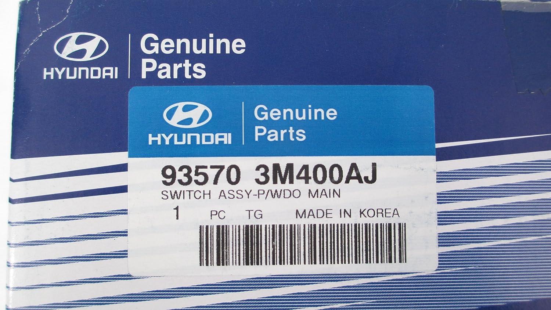 09-14 HYUNDAI GENESIS 4D SEDAN MASTER POWER WINDOW SWITCH NEW 93570-3M400AJ