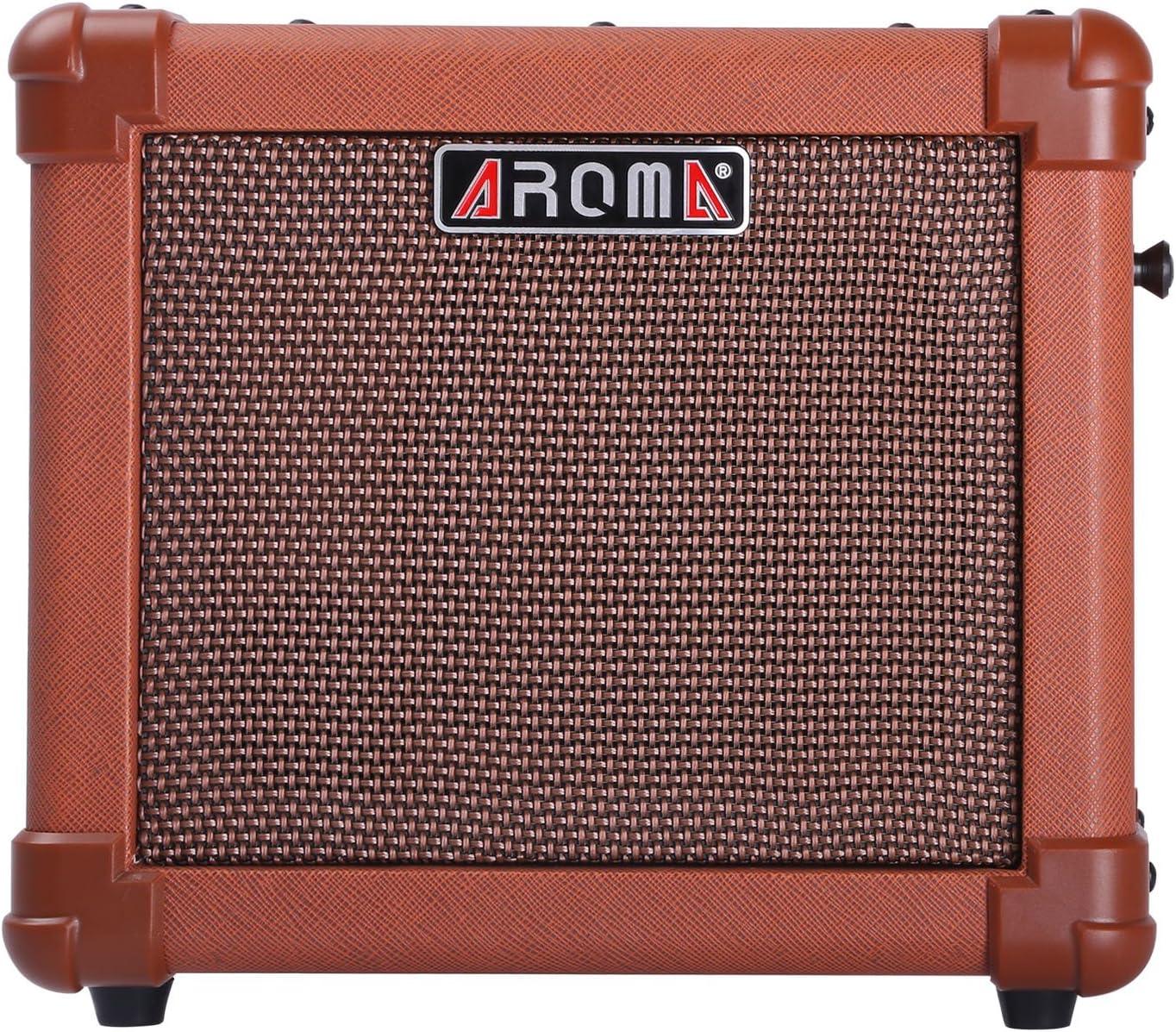 Amplificador para Guitarra Acústica AROMA de 10W con Batería ...