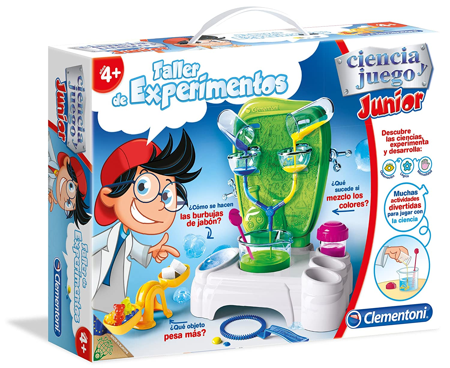 Clementoni Ciencia Junior Jardin Botanica 55156 9 Amazon Es