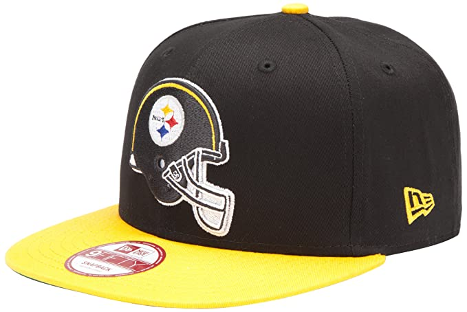 wholesale dealer 00280 cf9a6 Amazon.com   NFL Pittsburgh Steelers Goal Line Snapback Cap, Black Gold,  One Size Fits All   Sports Fan Baseball Caps   Clothing
