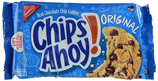 Chips Ahoy! Cookies, Original Chocolate Chip, 13 Ounce Tray